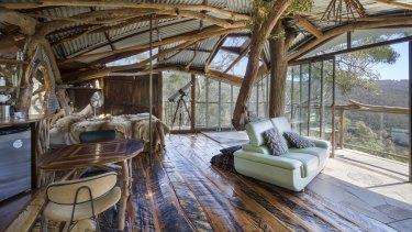 Treehouse Bilpin, in NSW.