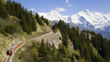 The accident happened in the picturesque area of Interlaken, Switzerland.