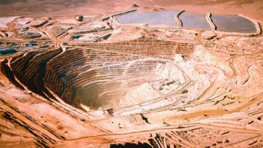 BHP and Rio Tinto's Escondida mine in Chile is the world's largest copper mine.