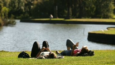 The Melbourne University research found increasing the number of parks in Melbourne could improve health.