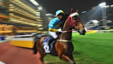 The famed Happy Valley track is home to the Hong Kong Jockey Club.