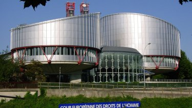 The European Court of Human Rights in Strasbourg, France.
