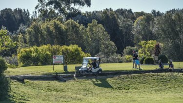 The Eastlake Golf Course could be in for a transformation under a long-term vision for Botany Bay.