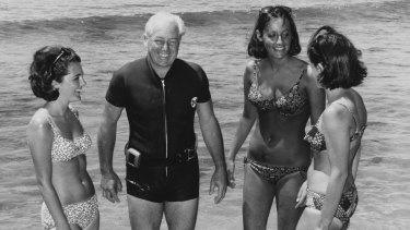 The real Harold Holt was a keen swimmer.