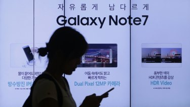 Samsung has sold about 2.5 million Note 7s around the world, with an estimated one in 42,000 units at risk of having a faulty battery.