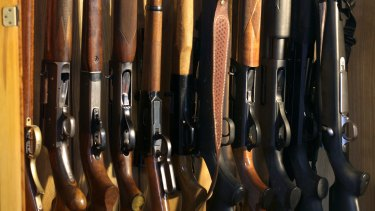 "Gun owners can stockpile hundreds of weapons by repeatedly using the same ""good reason""."