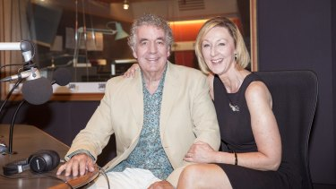 """""""It's like a marriage without the sex"""": Peter Stubbs and Diane Dunleavy."""