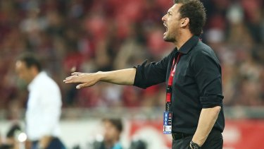 Outspoken: Western Sydney Wanderers coach Tony Popovic has been fined.