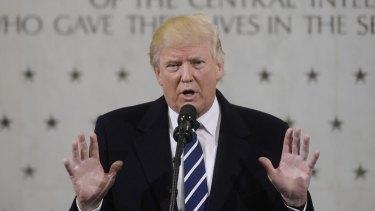 Investors can't ignore US President Donald Trump.