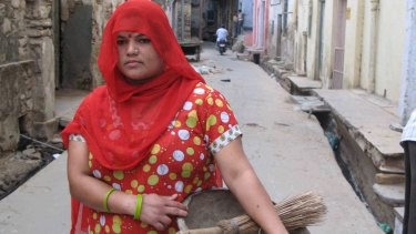 'Baby' became a manual scavenger in Alwar, Rajasthan, when she married into a family that had done this work for centuries.