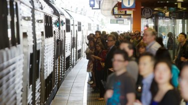 Demand is surging, putting extra strain on Sydney's aged rail network.