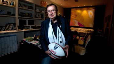 Ad man Harold Mitchell was also chairman of the Melbourne Rebels.
