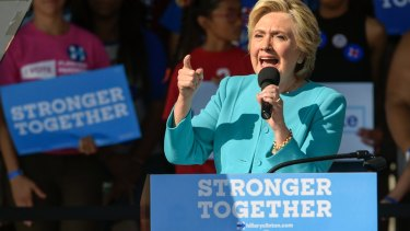 Hillary Clinton has sought to separate her campaign from the Clinton Foundation.