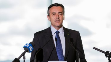 Federal Transport Minister Darren Chester is in favour of using existing rail network infrastructure.