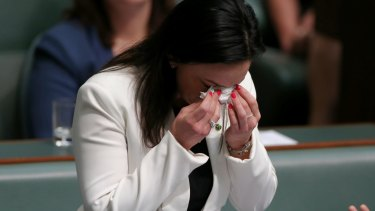 """""""Sadly, the wheel of domestic violence continues to affect my life as a grown woman"""": Emma Husar."""