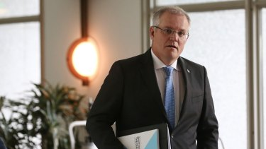 Treasurer Scott Morrison is pushing to lower the company tax rate.