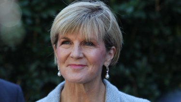 "Foreign Minister Julie Bishop: ""The Australian government does not believe there is any link between the Indonesian government and the people smuggling trade."""