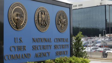 The National Security Agency campus in Fort Meade, Maryland.