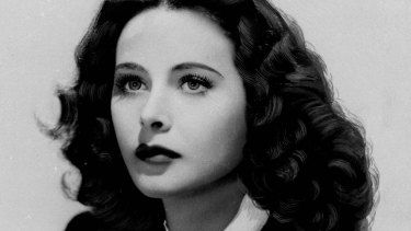 Actress and inventor Hedy Lamarr.