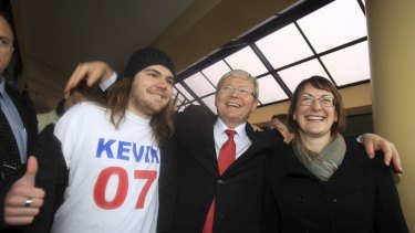 Neil Lawrence designed the Kevin 07 advertising campaign.