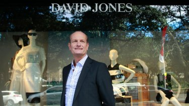 Resurgence: David Jones CEO Ian Nairn.