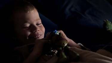 Oshin began chemotherapy days after his sixth birthday.