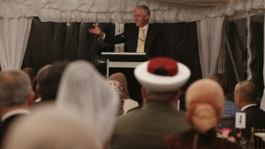Prime Minister Malcolm Turnbull hosted an Iftar dinner celebrating Ramadan at Kirribilli House in Sydney on Thursday.