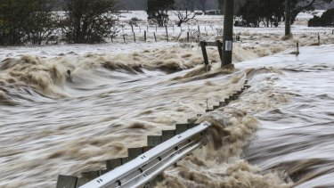 The total damage bill of the state's worst flood in generations is expected to top $100 million.