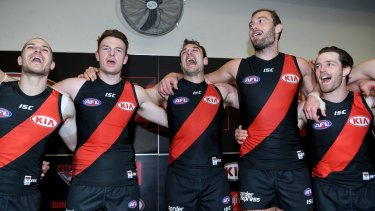 Happy days for the Bombers.