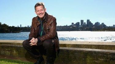 Brisbane novelist Nick Earls.