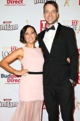 Zoe Foster Blake and her husband, Hamish Blake, last year.