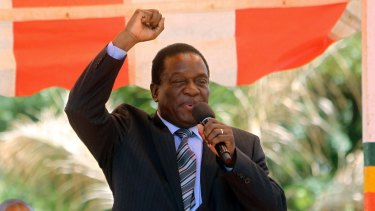 Emmerson Mnangagwa, who was recently sacked as vice-president, has replaced Mugabe as the leader of the ruling ZANU-PF party.