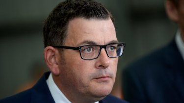 Daniel Andrews says he is 'very troubled' by the safe spaces proposal.