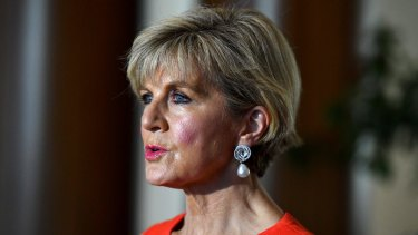 Julie Bishop Bishop has asked how US officials would counter the argument that North Korea could not trust the US if it walked away from previous international agreements.