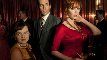 Objectifying women was part of the game on <i>Mad Men</i>.