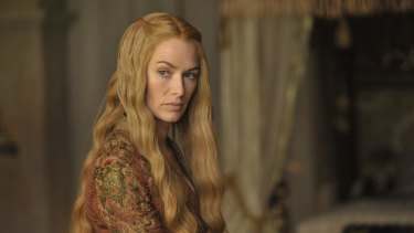 Cersei Lannister (Lena Heady) contemplates the fate of Emmy voters after <i>Game of Thrones </i>was snubbed in the costume and hair styling categories.