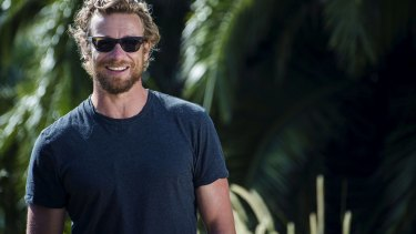 Simon Baker at the announcement that Tropfest is back on.