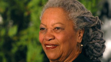 Ruminations on the scourge of race: Author Toni Morrison in 2007.
