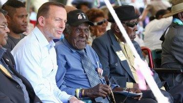 """We want to help hard-working Australians"": Tony Abbott."