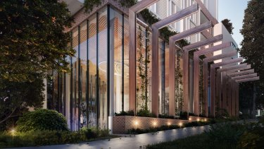 The 15-storey development is due for completion early 2019