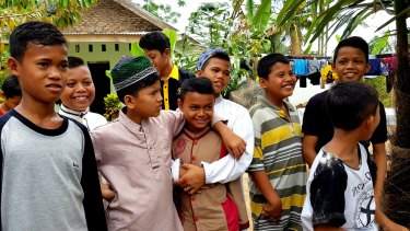 Ghazali says the stigmatised  children of terrorists are no longer angry or moody after coming to Al-Hidayah.