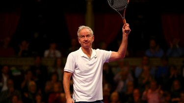 John McEnroe has used a satirical video to poke fun at Margaret Court in the wake of her comment's about same-sex marriage.