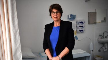 """""""We work very hard and the expectations of patients is higher than ever before"""": Dr Amanda Newman."""