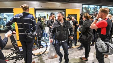 Patronage is soaring across Sydney's train network.
