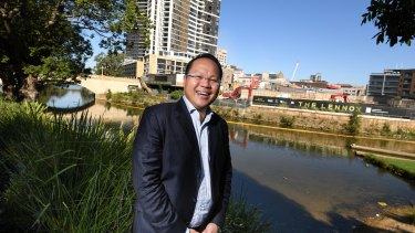 Property investor Douglas Lei bought his first apartment in Western Sydney and isn't worried about rent dipping in the region.