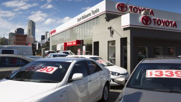 Toyota is under fire over its treatment of a used car salesman in Melbourne who claims he was racially vilified by his co-workers.