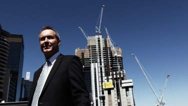 "Lend Lease's Barangaroo South managing director Andrew Wilson said the design was ""elegant and simple""."