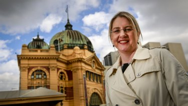 Public Transport Minister Jacinta Allan said Flinders Street station needed to be restored not just for its heritage value but also to address passenger congestion.