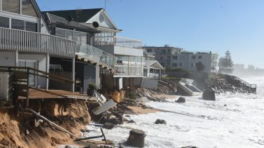 Many coastal properties are exposed to wild weather – that is expected to get wilder.