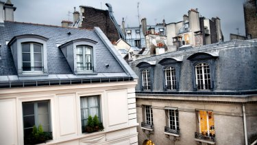 In Paris, density is thrilling.
